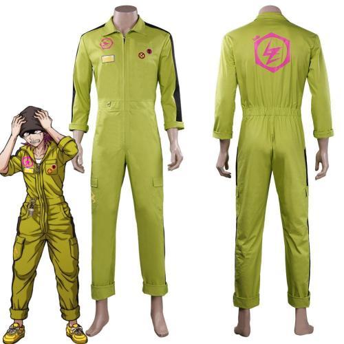Danganronpa Kazuichi Souda Jumpsuit Outfit Halloween Carnival Suit Cosplay Costume