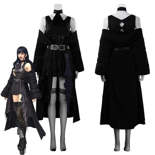 Final Fantasy Xiv - Gaia Outfits Halloween Carnival Suit Cosplay Costume