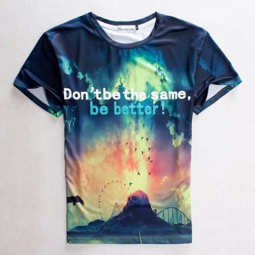 Summer Fashion T-Shirt Men/Women V2