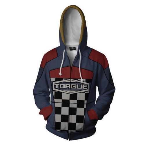 Borderlands Torgue Grids Game Unisex 3D Printed Hoodie Sweatshirt Jacket With Zipper