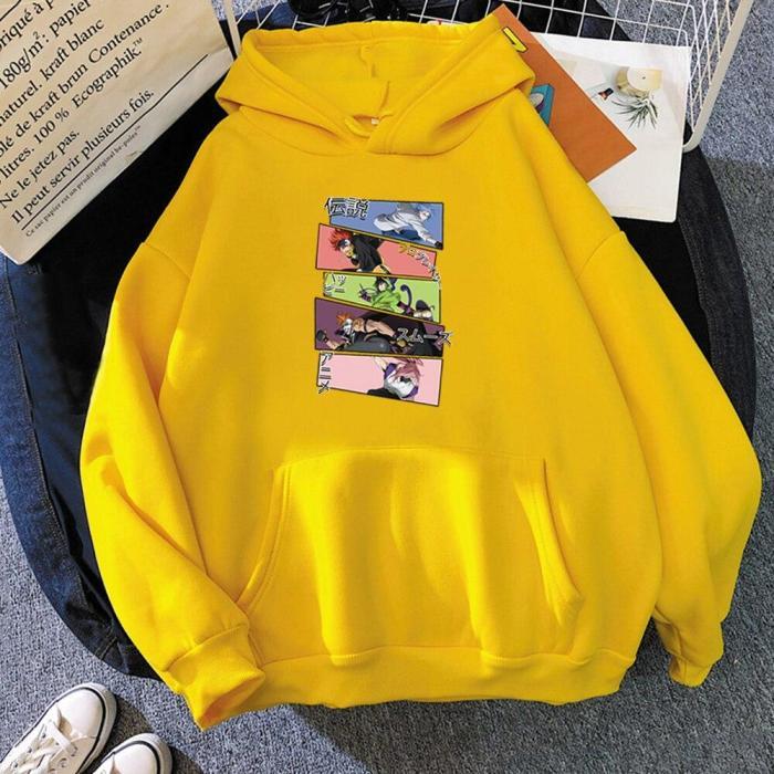 Sk8 The Infinity Langa Reki Miya Blossom Anime Unisex Harajuku Sweatshirt Loose Hoodie