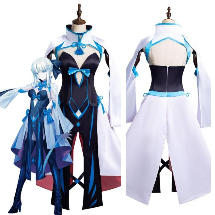 Fate/Grand Order Fgo Morgan Le Fay Outfits Halloween Carnival Suit Cosplay Costume