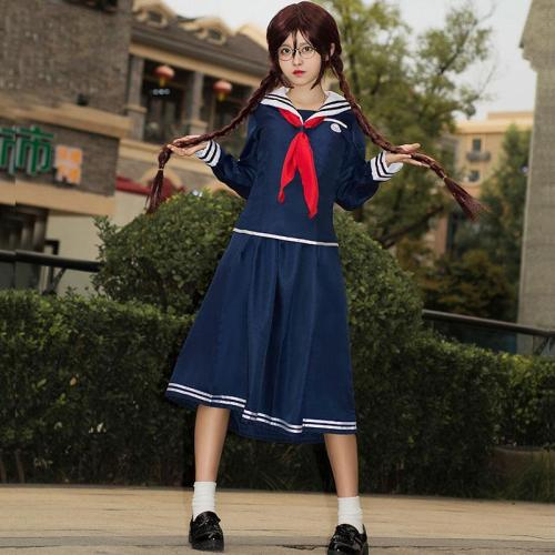 Danganronpa Dangan Ronpa Touko Fukawa Halloween Cosplay Costume