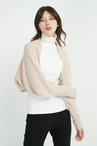 Belle'S Sleeve Wool Scarf