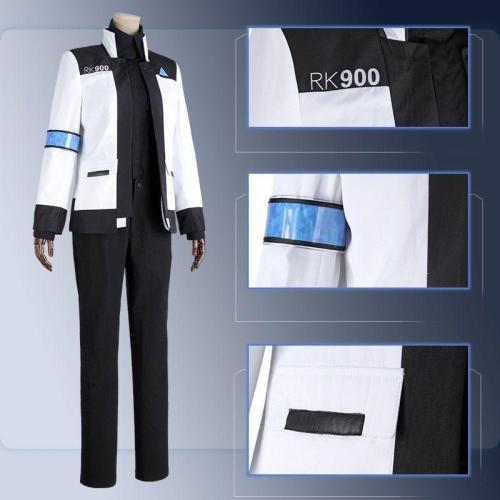 Game Detroit:Become Human Connor 900 Cos Rk900 Agent Suit Uniform Woman Kara Cosplay Costume Jacket Shirt Pants Customize Made