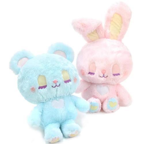 Pastel Bunny & Bear Plushies
