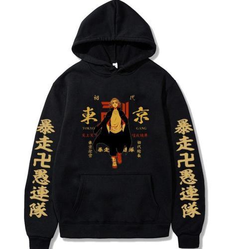 Tokyo Revengers Anime Pocket Pullover Hoodie Hooded Sweatshirt