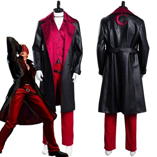The King Of Fighters Xv Iori Yagami Outfits Halloween Carnival Suit Cosplay Costume
