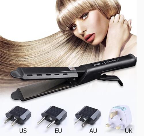 Ceramic Tourmaline Ionic Flat Iron Hair Straightener