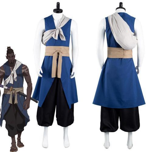 Anime Yasuke Yasuke Outfits Halloween Carnival Suit Cosplay Costume