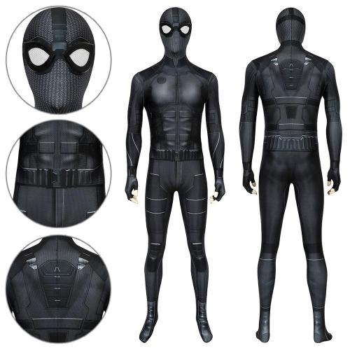 Spider-Man Peter Parker Night Monkey Suit Spider-Man: Far From Home Jumpsuit Cosplay Costume -