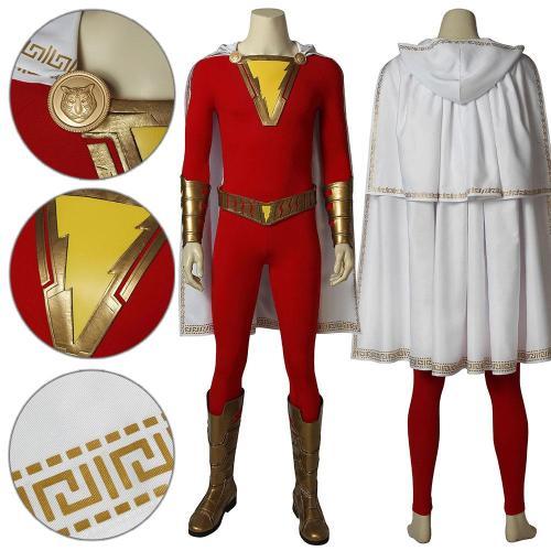 Billy Batson Shazam! Cosplay Costume