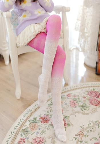 Ombre Lace Tights