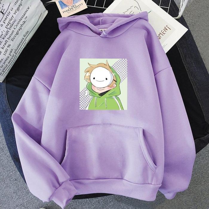 Anime Dream Merch Hoodie Oversize Kawaii Aesthetic Tracksui Sweatshirt Pullover
