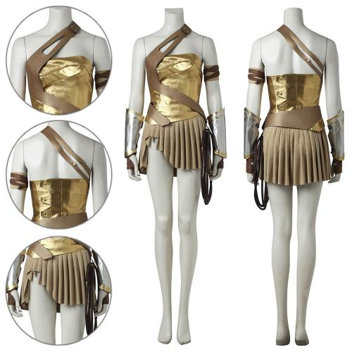 Diana Prince Wonder Woman Soldier Cosplay Costume