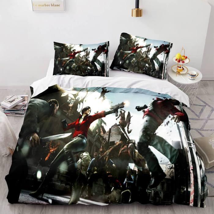 Biomutant Cosplay Bedding Set Duvet Cover Comforter Bed Sheets