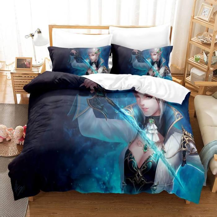 Final Fantasy Bedding Set Quilt Duvet Covers Comforter Bed Sheets