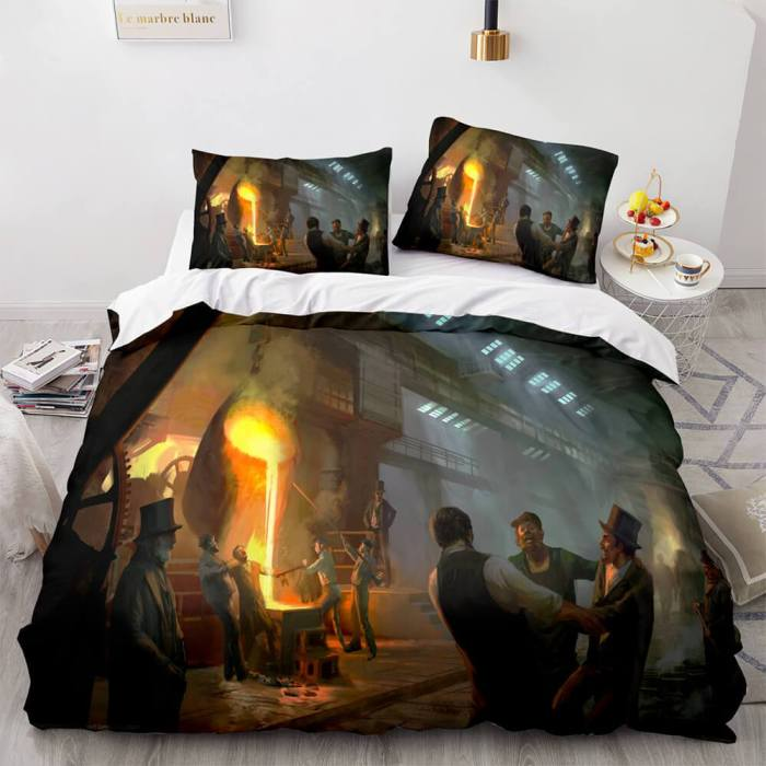 Assassin'S Creed Bedding Set Quilt Duvet Covers Comforter Bed Sheets