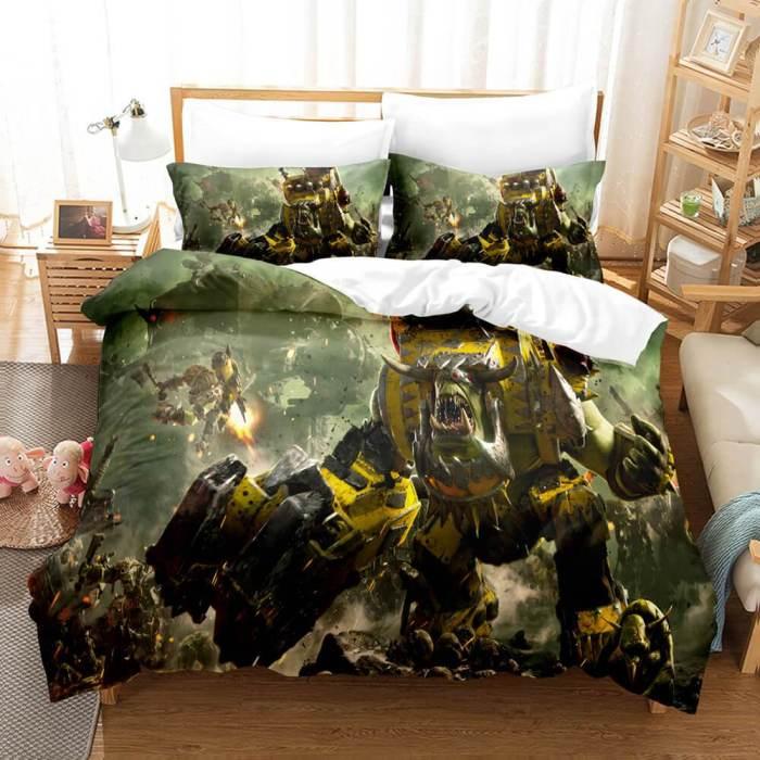 Warhammer 40K Cosplay Comforter Bedding Set Duvet Covers Bed Sheets
