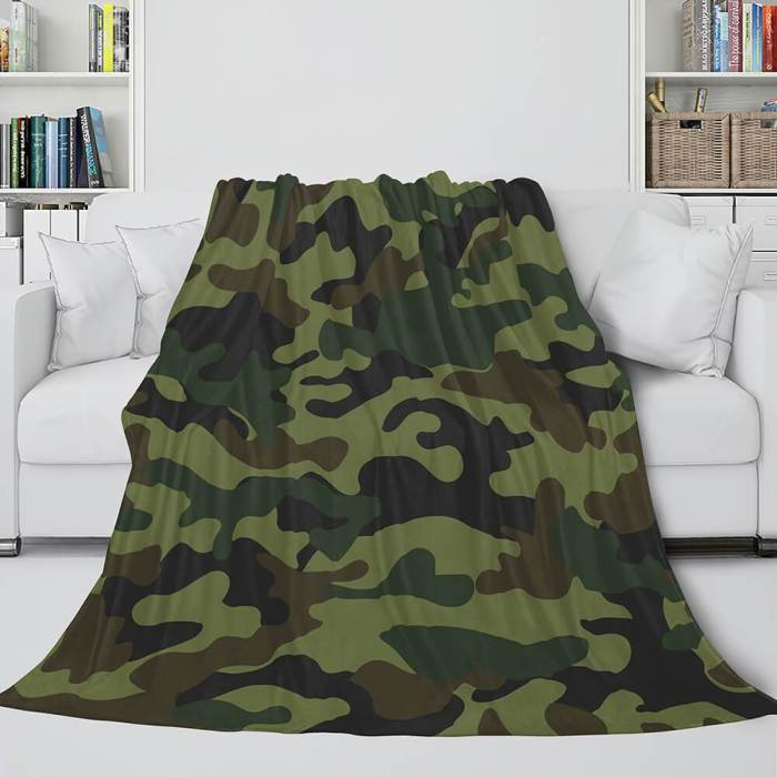 Animal Flower Soft Flannel Fleece Throw Cosplay Blanket Comforter Set