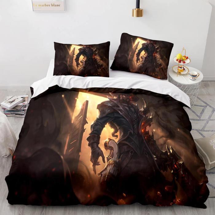 League Of Legends Game Bedding Sets Quilt Duvet Covers Bed Sheets