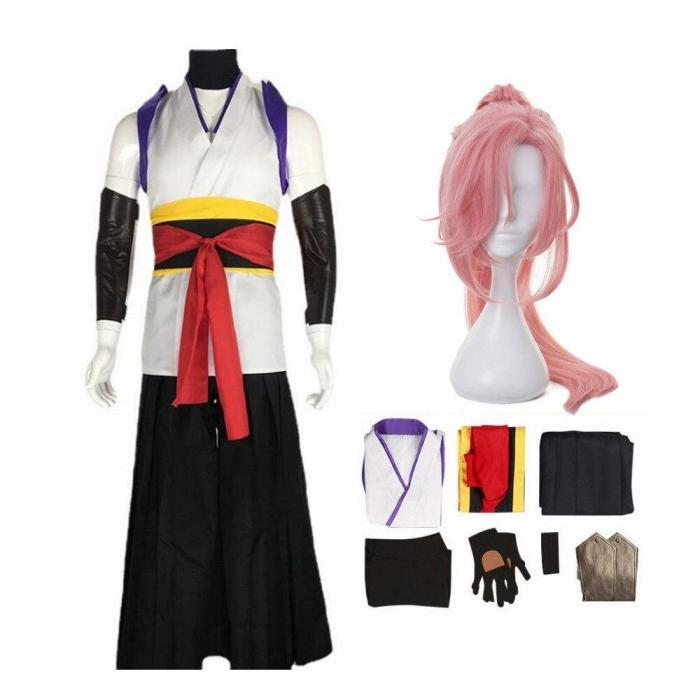 Sk8 The Infinity Cherry Blossom Outfit Kimono Halloween Carnival Suit Cosplay Costume