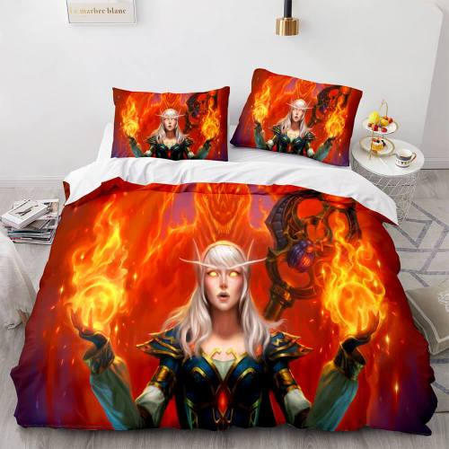 Hearthstone Heroes Of Warcraft Cosplay Bedding Set Duvet Covers Sheets