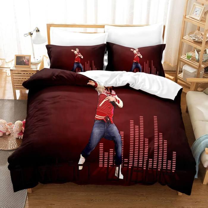 Justin Bieber Cosplay Bedding Set Duvet Cover Comforter Bed Sheets