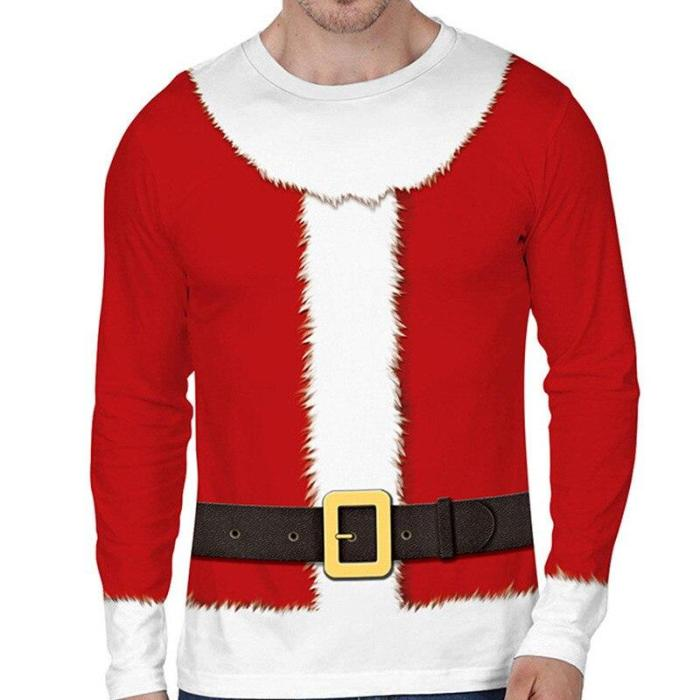 Funny Ugly Christmas Sweater Unisex Men Women Vacation Pullover Sweaters Jumpers Tops Novelty Autumn Winter Clothing