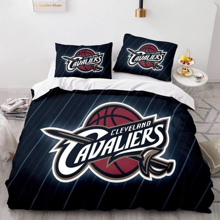 Nba Team Cosplay Bedding Set Full Duvet Cover Comforter Bed Sheets