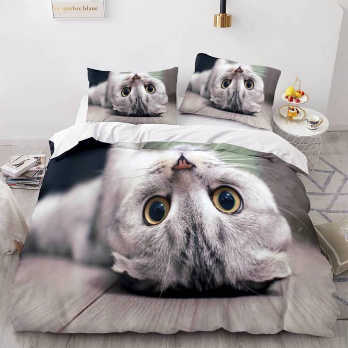 Animal World Cosplay Bedding Set Duvet Cover Comforter Bed Sheets