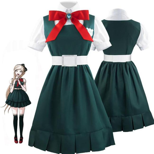 Anime Danganronpa 2 Sonia Nevermind Cosplay Woman Girls Arty Halloween Costume