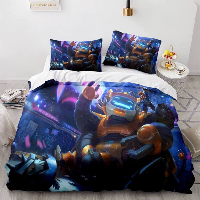 League Of Legends Cosplay Bedding Sets Quilt Duvet Covers Bed Sheets