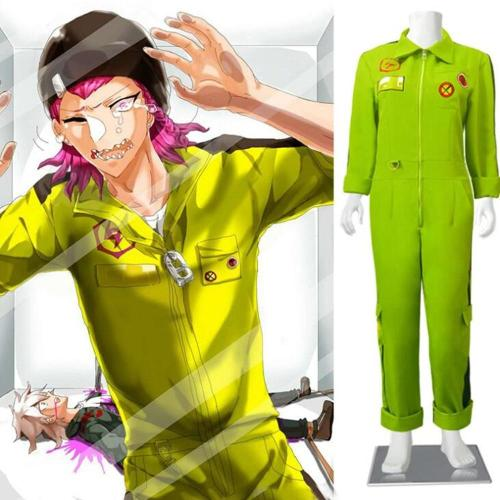 Anime Danganronpa 2 Kazuichi Souda School Uniform Cosplay Costumes Clothes