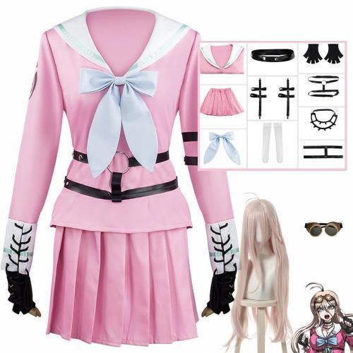 Anime Miu Iruma Cosplay Costume Danganronpa V3 Cosplay School Uniform Women Girls Dresses