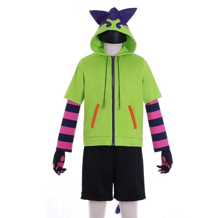 Anime Sk8 The Infinity Miya Chinen Hoodie Set Cosplay Costume