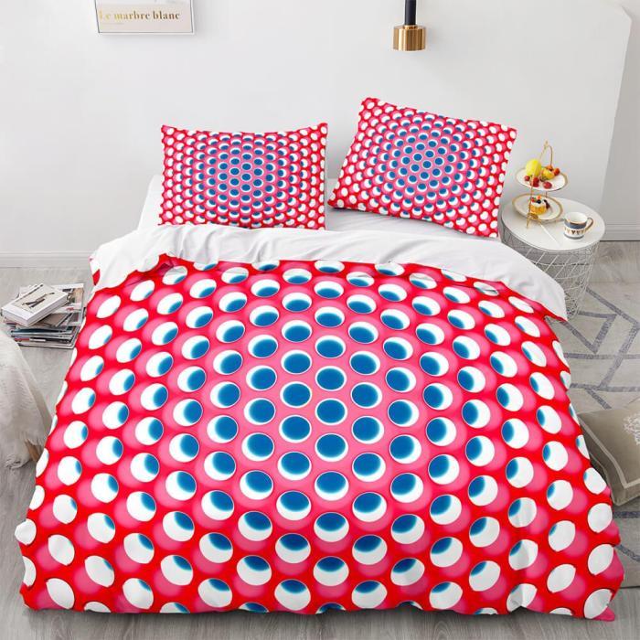 Honeycomb 3-Piece Bedding Sets Duvet Covers Comforter Bed Sheets