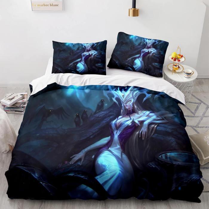 League Of Legends Bedding Sets Quilt Duvet Covers Comforter Bed Sheets