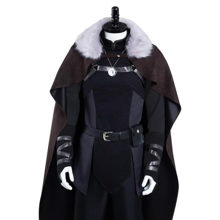 The Witcher: Nightmare Of The Wolf- Vesemir  Halloween  Cosplay Costume