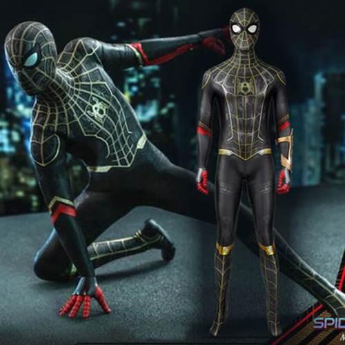 Spider-Man No Way Home Peter Parker Jumpsuit Halloween Cosplay Costume