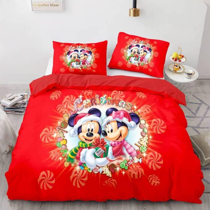 Christmas Santa Claus Bedding Sets Duvet Covers Comforter Bed Sheets