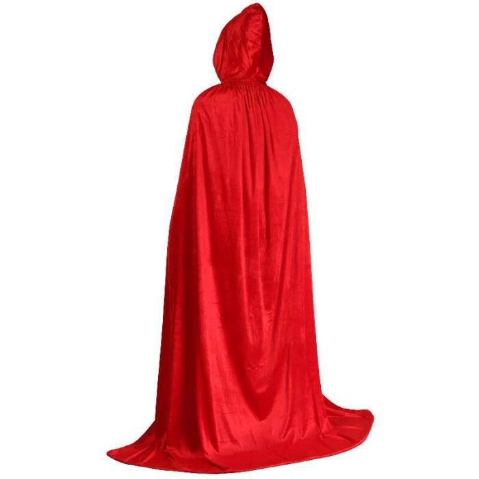 Halloween Adult Children'S Cosplay Golden Velvet Hooded Cape Medieval Costume Vampire Carnival Party Cape