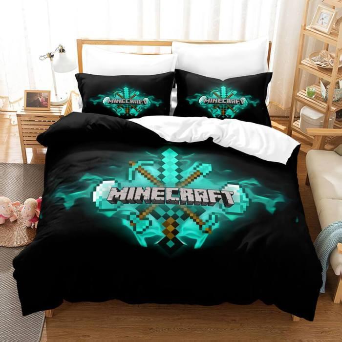 Fortnite Cosplay Comforter Bedding Sets Duvet Covers Bed Sheets