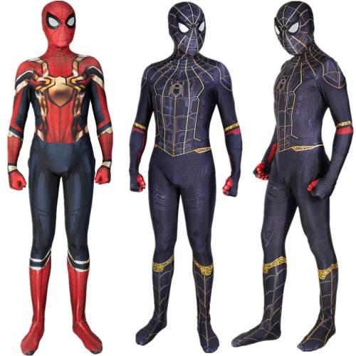 Spider-Man: No Way Home Peter Parker Jumpsuit Bodysuit Cosplay Costume