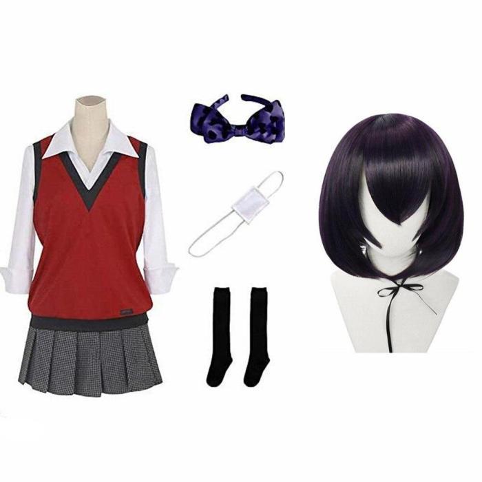 Anime Vetement Manga Yumeko Jabami Twin Uniform Cosplay Costumes Halloween Girls Clothes Women Suits