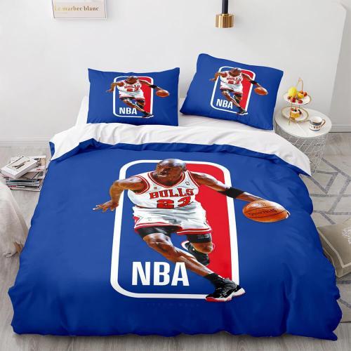 Nba Basketball Super Star Bedding Sets Quilt Duvet Covers Bed Sheets