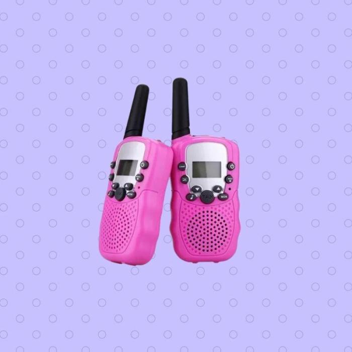 Twin Mini Walkie-Talkie For Kids 3-12 Years Old