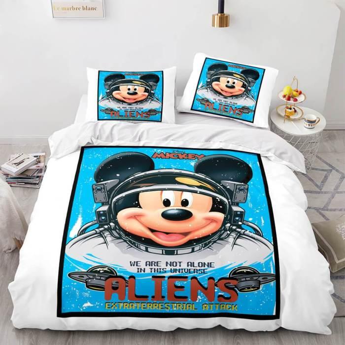 Space Astronaut Bedding Set Duvet Cover Comforter Bed Sheets
