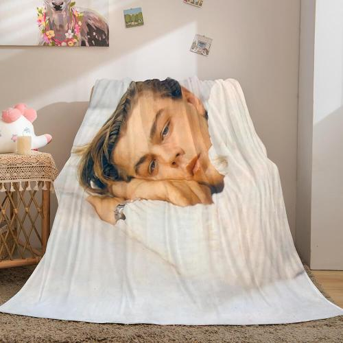 Leonardo Dicaprio Flannel Throw Blanket Micro Fleece Plush Blanket