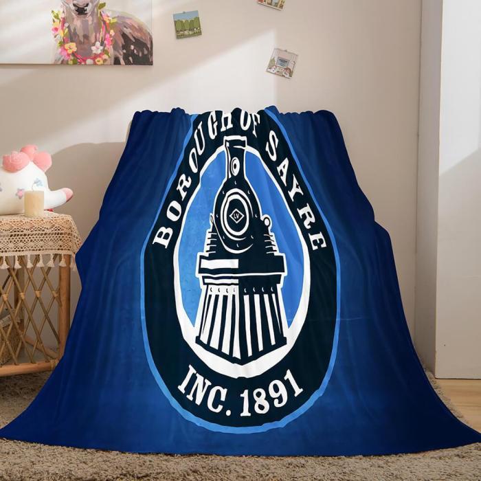 Characters Logo Flannel Fleece Throw Cosplay Blanket Comforter Set